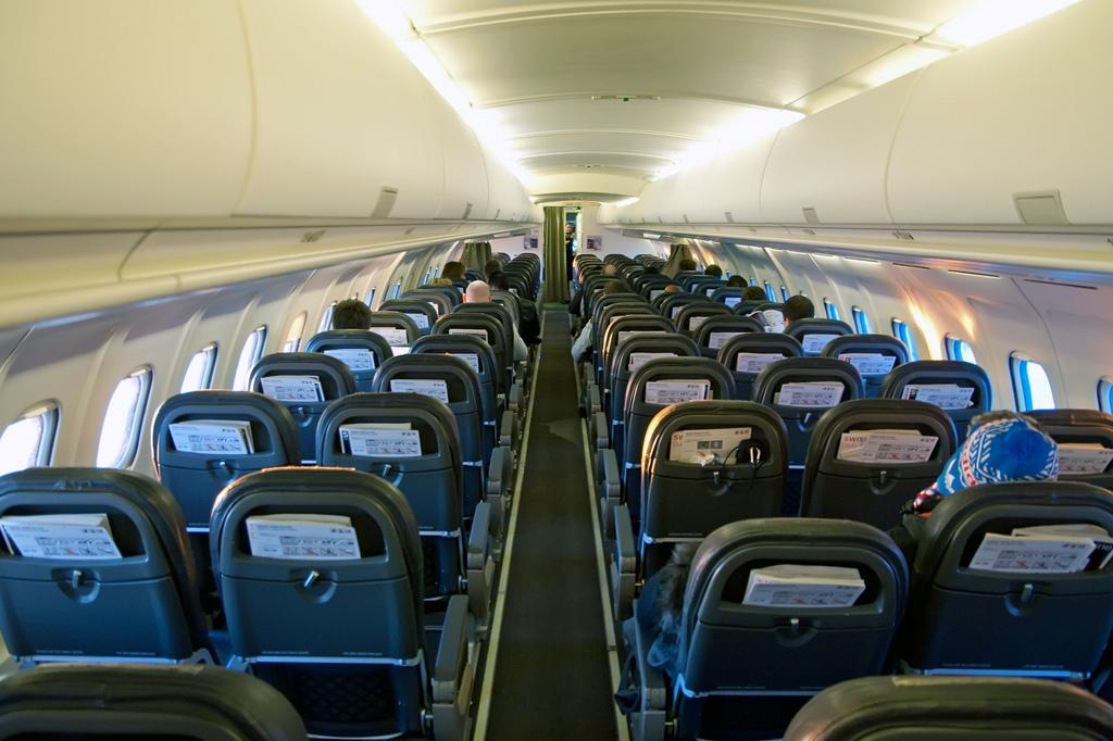 Passenger salon Tu 204.